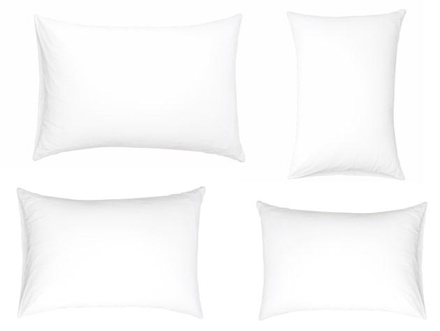 tamaños de almohada