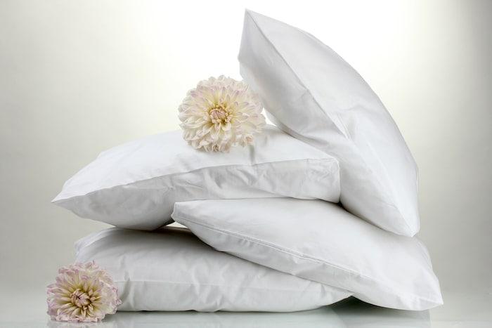 almohadas con flores